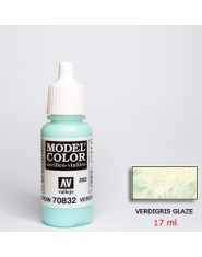 VERDIGRIS GLAZE acrilic (17 ml)