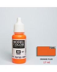 ORANGE FLUO acrilic (17 ml)