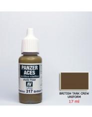 BRITISH TANK CREW UNIFORM acrilic (17 ml)