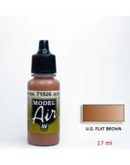 U.S. FLAT BROWN acrilic (17 ml.)