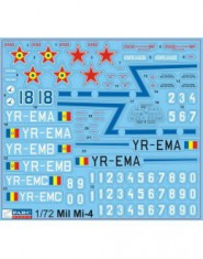 Decal 1/72 MiL Mi-4