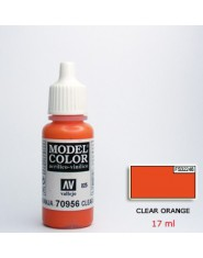 CLEAR ORANGE acrilic (17ml)