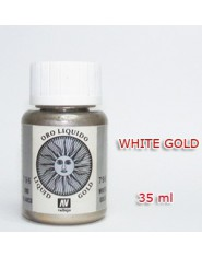 METALLIC PIGMENT-WHITE GOLD (35 ml)