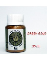 METALLIC PIGMENT-GREEN GOLD (35 ml)