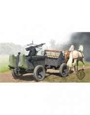 If. 5 horse drawn wagon (Type 36) with Zwillingslafette 36