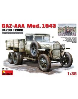 GAZ-AAA Mod. 1943. CARGO TRUCK