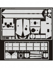 Photoetched set Zimmerit Panther Ausf.D (ICM)