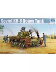 Soviet KV-8 Heavy Tank