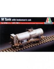 M TANK with brakeman's cab