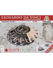Leonardo Da Vinci MULTI-CANNON GUNSHIP