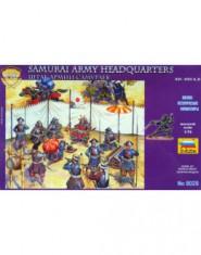 SAMURAI ARMY HEADQUARTES STAFF XVI-XVII A.D.