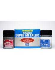 PLATE SILVER Super Metalic (18ml + 18ml)