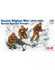 Soviet Special Troops, Soviet-Afghan war 1979-88