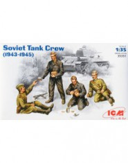 Soviet tank crew, 1943-1945