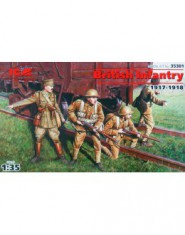 British infantry, 1917-1918