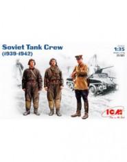 Soviet tank crew, 1939-1942