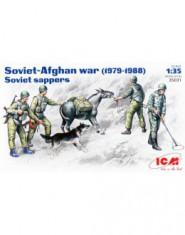 Soviet sappers, Soviet-Afghan war 1979-88