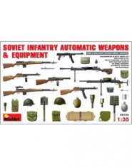 SOVIET INFANTRY AUTAMATIC WEAPONS AND EQUIPMENT