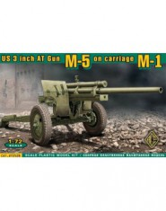 U.S. 3inch anti-tank gun M-5 on carriage M-1