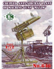 Coupled anti-aircraft plant of machine-guns ,,Maxim,,