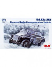 Sd.Kfz.261 WWII German radio communication vehicle