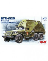 BTR-152S Soviet armored troop-carrier