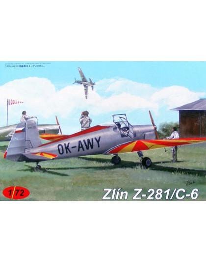 AZ Models 1//72 Zlin Z-281//C-6 # CZ42