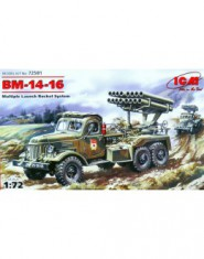 BM-14-16 Soviet Army rocket volley system