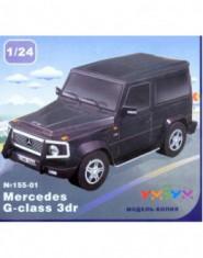 Mercedes G-class 3dr verde (carton)