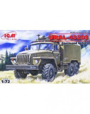 Ural-4320 Soviet Army command truck