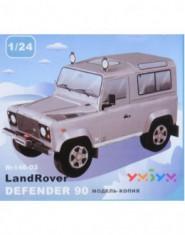 Land Rover Defender 90 gri (carton)