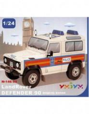 Land Rover Defender 90 POLICE (carton)
