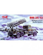 BM-24-12 Soviet Army rocket volley system