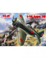 Polikarpov I-16 type 18 WWII Soviet fighter