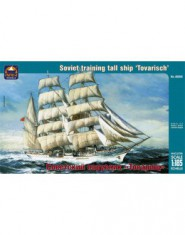 Soviet training tall ship ,,Tovarisch,,
