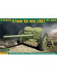 S.A. mle 1937 French 47mm anti-tank gun