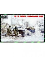 U.S. WWII. Diorama set