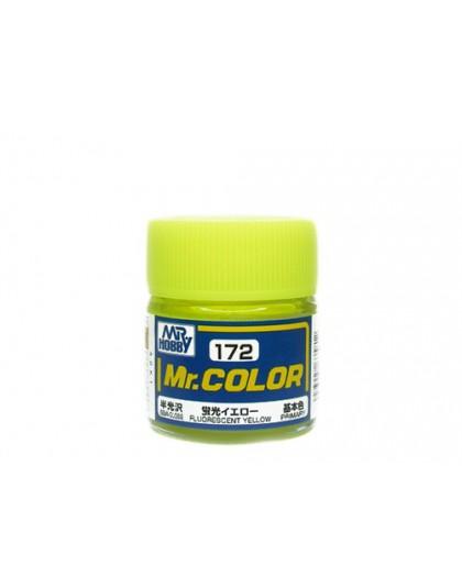 FLUORESCENT YELLOW /semi-gloss - 10ml/