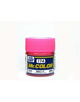 FLUORESCENT PINK /semi-gloss - 10ml/