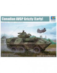 Canadian AVGP Grizzly 6×6 (Early Version)