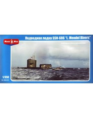 """U.S. nuclear-powered submarine SSN-686 """"Mendel Rivers"""""""