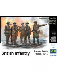 British Infantry, Somme Battle Period, 1916