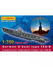 German U-boat type IX A/B (profi set)