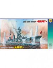 Soviet battleship ,,Marat,,