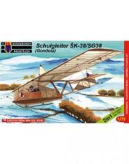 Schulgleiter SK-38/SG38 (Gondola) / 2 kituri in cutie /