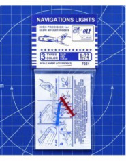 NAVIGATIONS LIGHTS (blue, clear, red)