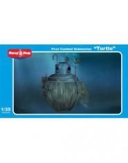 ,,Turtle,, First combat submarine