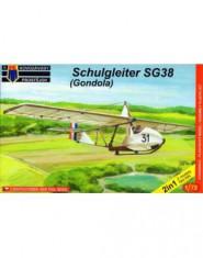 Schulgleiter SG38 (Gondola) / 2 kituri in cutie /