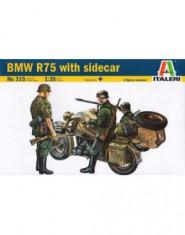 BMW R75 widh sidecar