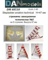 Stepladder aviation technical #2 (5 steps), height 47mm